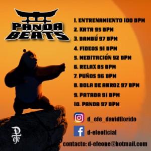 Trasera: D-efe - Pandabeats (Instrumentales)