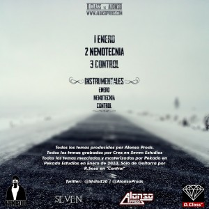 Trasera: D.Class y Alonso Prods - Enero