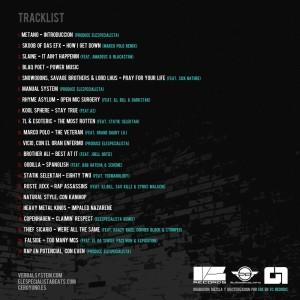 Trasera: DJ 311 - Seleccion natural