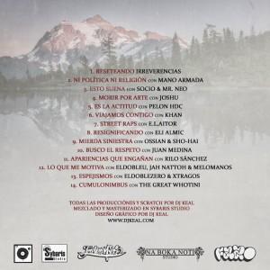 Trasera: DJ Keal - Ajeno al tiempo