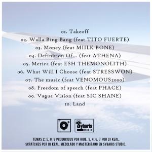 Trasera: DJ Keal y Hibe - Borderless