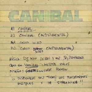 Trasera: DJ Koo y Sr. Zambrana - Caníbal