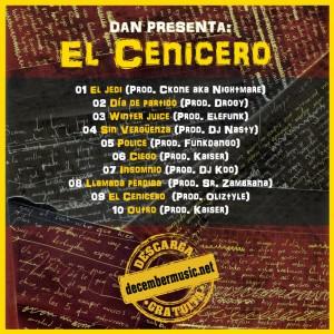 Deltantera: Dan - El cenicero