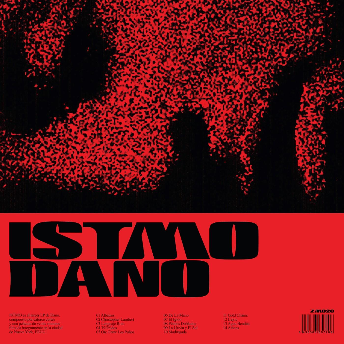 Dano - ISTMO (Ficha con tracklist)