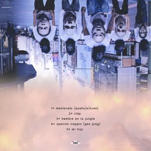 Trasera: Dark hood familia - Lo5 maya5 II01II