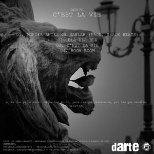 Trasera: Darte - C'est la vie