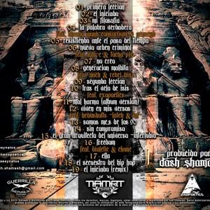 Trasera: Dash Shamash - El Iniciado