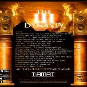 Trasera: Dash Shamash - The III Dynasty