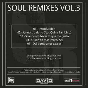 Trasera: David la casta y Eduakapenn 1 - Soul remixes Vol. 3