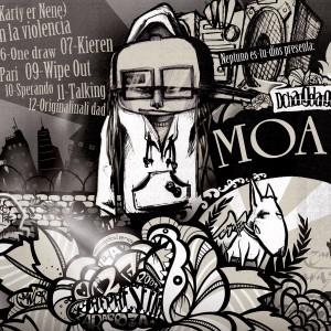 Trasera: Dchangelangel y Rapsusklei - Moa thai