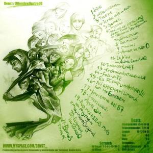 Trasera: Denst - El hombre ilustrado