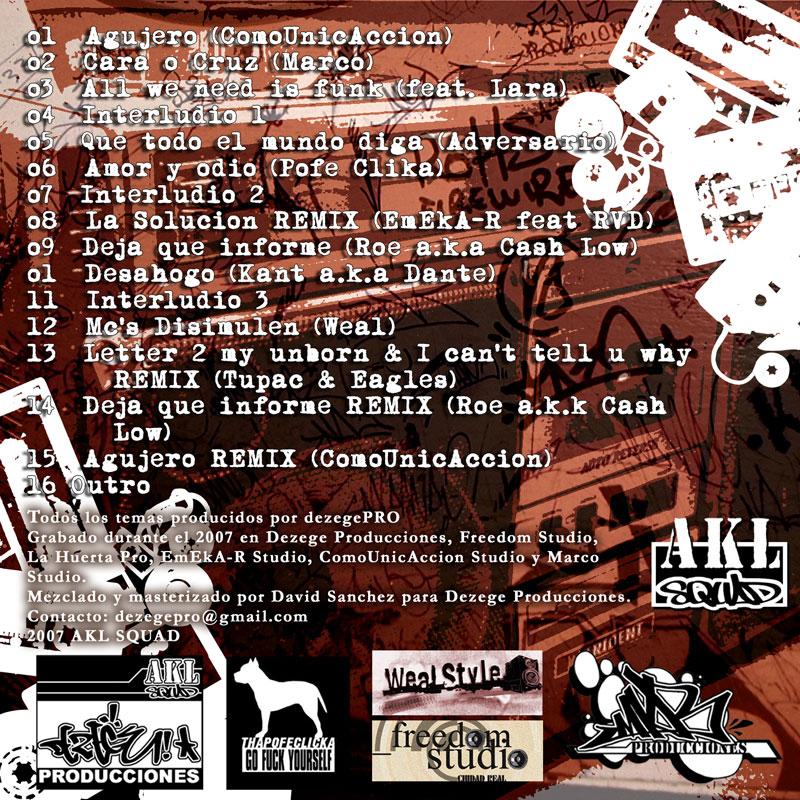 Dezege producciones - All we need is funk » Álbum Hip Hop Groups