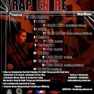 Trasera: Diego Minano - Rap en re
