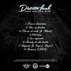 Trasera: Distrito Funk - Subiendo de rango