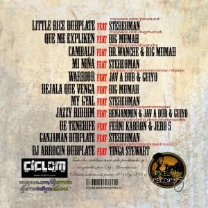 Trasera: Dj Arrocin - Original riddims the mixtape
