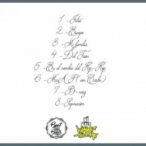 Trasera: Dj Beniz y Yilan Kartal - Street album