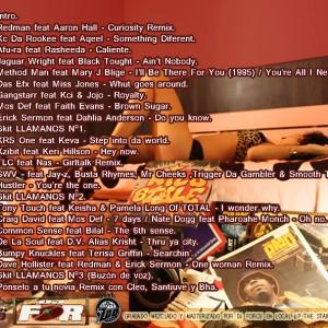 Trasera: Dj Force - Hip Hop loves R&B Vol. 2