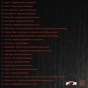 Trasera: Dj Force - Special guest Redman Vol. 2