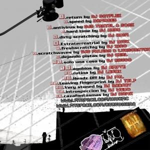Trasera: Dj Hiuk presenta - Scratch GP
