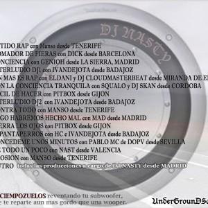 Trasera: Dj Nasty - Latido rap vol. 2