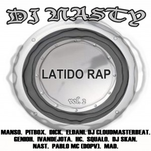Deltantera: Dj Nasty - Latido rap vol. 2