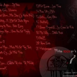 Trasera: Dj Palaz - Sudando SangreVol. 1 (Mixtape)
