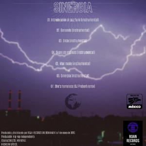 Trasera: Dj Probert - Sinergia (Instrumentales)