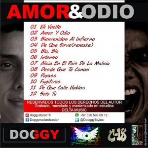 Trasera: Doggy - Amor & ddio