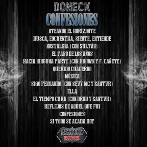 Trasera: Doneck - Confesiones