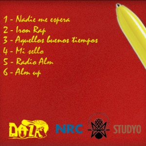 Trasera: Doza - Rap and rap - The mixtape