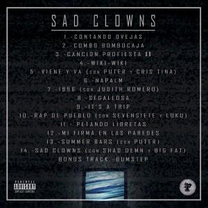 Trasera: Duman - Sad clowns