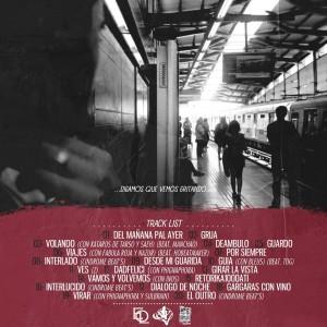 Trasera: E.O.L. - Diálogos, guiones y viajes