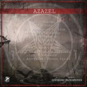 Trasera: Edfish - Azazel