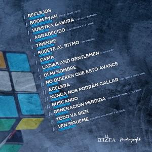 Trasera: El Bezea - Cubo de Rubik