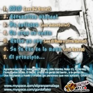 Trasera: El Granpa y G. Flako - Adrenalina musical