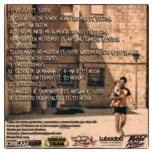 Trasera: El Moreno de la Iné - The unreleased sessions