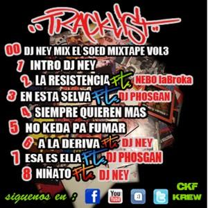 Trasera: El Soed y Dj Ney - Mixtape Vol. 3