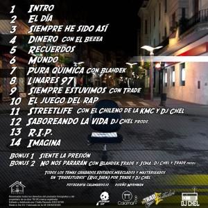 Trasera: El Vitu - The lost tape (No rendicion)