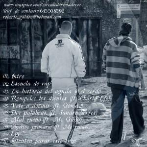 Trasera: El cirkulo - Jaque mate, camnio hacia el odio