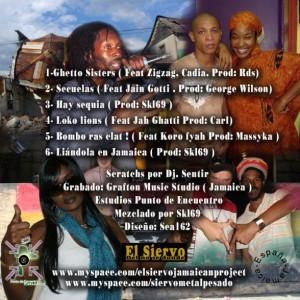 Trasera: El siervo - Liándola en Jamaica