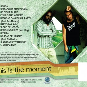 Trasera: El siervo y Oba Simba - This is the moment
