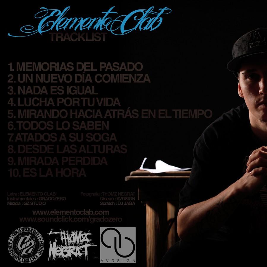 Elemento Clab Memorias Del Pasado Album Hip Hop Groups