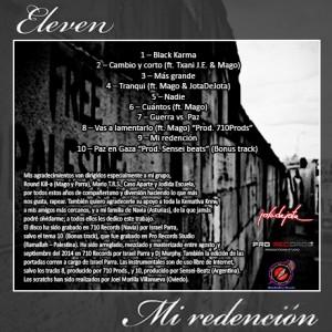 Trasera: Eleven - Mi Redención
