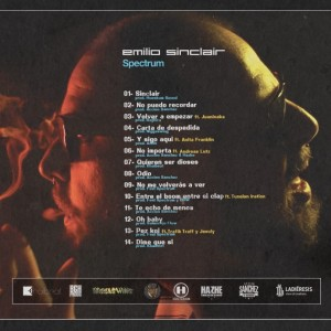 Trasera: Emilio Sinclair - Spectrum