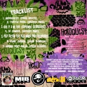 Trasera: Ensaladilla MC - Heroquest