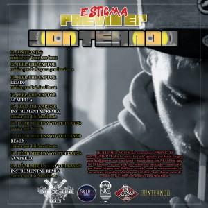 Trasera: Estigma - Previo 90nteando EP