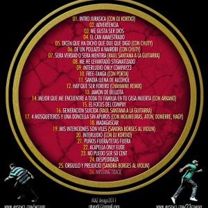 Trasera: Eude y Compay23 - Jurassic park 5