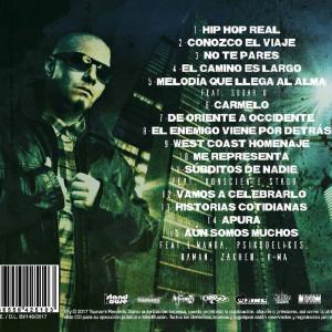 Trasera: FJ Ramos - Hip Hop Real