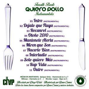 Trasera: Farath beats - Quiero pollo (Instrumentales)