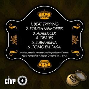 Trasera: Farath beats - Six pack Vol. 1 (Instrumentales)